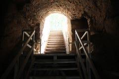 Fortaleza antigua Yehiam Fotos de archivo libres de regalías
