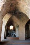 Fortaleza antigua Yehiam Imágenes de archivo libres de regalías
