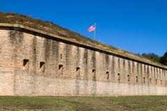 Fortaleza Barrancas Pensacola Fotografía de archivo libre de regalías
