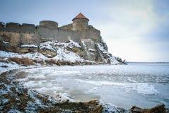 Fortaleza Belgorod-Dnestrovskiy de Akkerman Foto de Stock