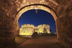 Fortaleza Belgrado, Serbia de Kalemegdan Fotos de archivo libres de regalías