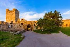 Fortaleza Beograd de Kalemegdan - Sérvia Foto de Stock Royalty Free
