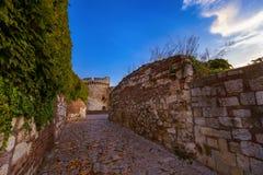 Fortaleza Beograd de Kalemegdan - Sérvia imagem de stock