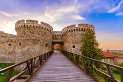 Fortaleza Beograd de Kalemegdan - Sérvia fotos de stock royalty free