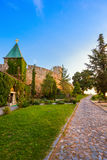 Fortaleza Beograd - Serbia de Kalemegdan Foto de archivo libre de regalías
