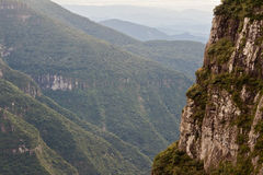 Fortaleza Canyon Aparados da Serra Brazil Royalty Free Stock Photo