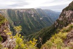 Fortaleza Canyon Aparados da Serra Brazil Royalty Free Stock Photos