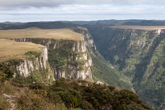 Fortaleza Canyon Aparados da Serra Brazil Royalty Free Stock Photos
