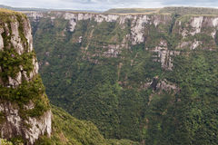 Fortaleza Canyon Aparados da Serra Brazil Royalty Free Stock Photography