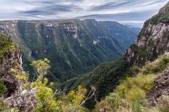 Fortaleza Canyon Aparados da Serra Brazil Stock Images