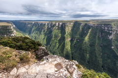 Fortaleza Canyon Aparados da Serra Brazil Stock Photo
