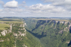 Fortaleza Canyon stock images