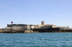 Fortaleza cerca de Cascais, Lisboa, Portugal Imagen de archivo libre de regalías