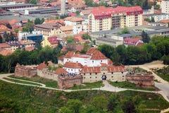 Fortaleza Cetatuia Imágenes de archivo libres de regalías