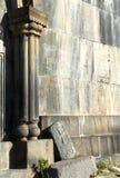 Fortaleza cristiana antigua Amberd Fotos de archivo libres de regalías