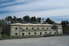 Fortaleza da montanha de Bernadia, Tarcento, fotos de stock royalty free