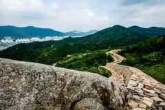 Fortaleza da montanha de Bunseonsan, Gimhae, Coreia do Sul Fotografia de Stock