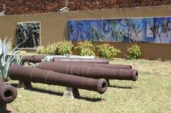 Fortaleza da Nossa Senhora da Conceicao. The old Fort or Fortaleza da Nossa Senhora da Conceicao in Maputo, Mozambique stock photo