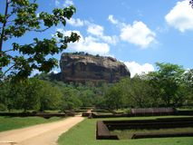 Fortaleza da rocha de Sigiriya Imagem de Stock Royalty Free