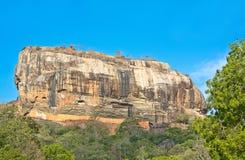 Fortaleza da rocha de Sigiriya, Sri Lanka Fotografia de Stock Royalty Free