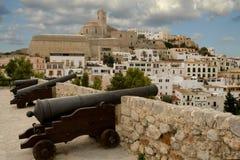 Fortaleza Dalt Vila (Ibiza) Fotografía de archivo libre de regalías