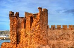 fortaleza Dar-EL-Bahar na costa atlântica de Safi, Marrocos Fotografia de Stock Royalty Free