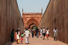 Fortaleza de Agra Fotografía de archivo