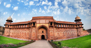 Fortaleza de Agra en la India imagen de archivo