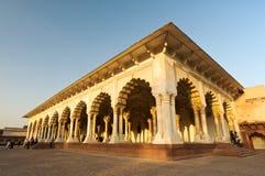 Fortaleza de Agra, la India Foto de archivo
