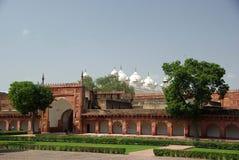 Fortaleza de Agra, la India Fotos de archivo libres de regalías