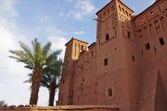A fortaleza de Ait Ben Haddou, em Marrocos Imagens de Stock Royalty Free