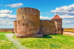 Fortaleza de Akkerman em Belgorod-Dnestrovskiy, Ucrânia imagens de stock royalty free
