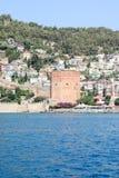 A fortaleza de Alanya Foto de Stock Royalty Free