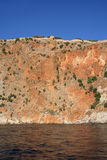 Fortaleza de Alanya, Turquía Foto de archivo libre de regalías