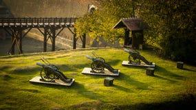 A fortaleza de Alba Iulia imagem de stock royalty free