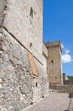 Fortaleza de Albornoz. Narni. Úmbria. Itália. Imagens de Stock Royalty Free