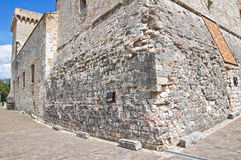 Fortaleza de Albornoz. Narni. Úmbria. Itália. Imagem de Stock