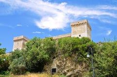 Fortaleza de Albornoz. Narni. Úmbria. Itália. Foto de Stock Royalty Free