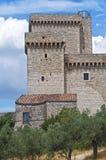 Fortaleza de Albornoz. Narni. Úmbria. Italy. Fotografia de Stock