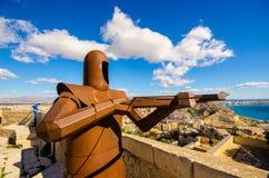 Fortaleza de Alicante Fotografía de archivo