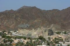 Fortaleza de Bahla Foto de archivo libre de regalías