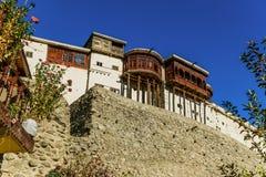 Fortaleza de Baltit, valle de Hunza paquistán foto de archivo libre de regalías