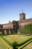 Fortaleza de Barcelona Imagen de archivo libre de regalías