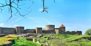 Fortaleza de Belgorod-Dnestrov Akkerman Fotos de Stock