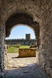 Fortaleza de Belgorod-Dnestrov Akkerman. Patio Fotos de archivo
