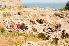 Fortaleza de Belgorod-Dniéster, fortaleza de Akkerman Fotos de archivo