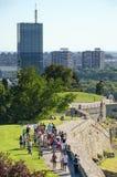 Fortaleza de Belgrado, Sérvia Fotografia de Stock Royalty Free