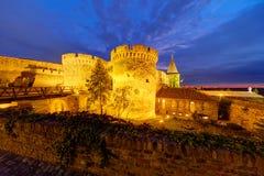 Fortaleza de Belgrado y parque de Kalemegdan Fotos de archivo