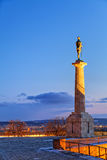 Fortaleza de Belgrado y parque de Kalemegdan Fotografía de archivo