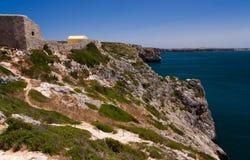 Fortaleza de Beliche, Algarve, Portugal Fotografering för Bildbyråer